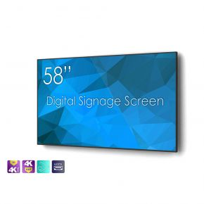 """SWEDX 58"""" Digital Signage screen / 4K in 4K out"""