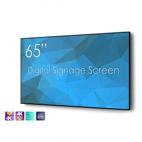 """SWEDX 65"""" Digital Signage screen / 4K in 4K out"""