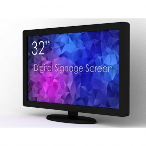 """SWEDX 32"""" Digital Signage screen / 4K in 4K out"""